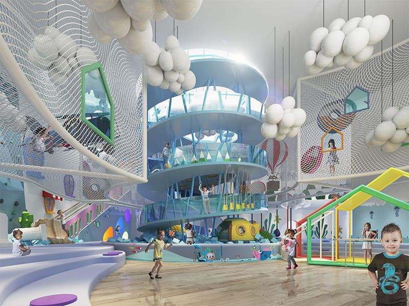 欢乐儿童发展中心 · 游乐园